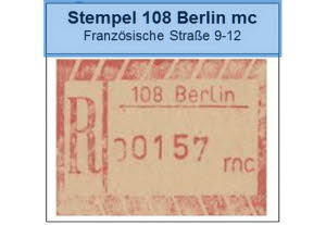 Stempel Berlin mc